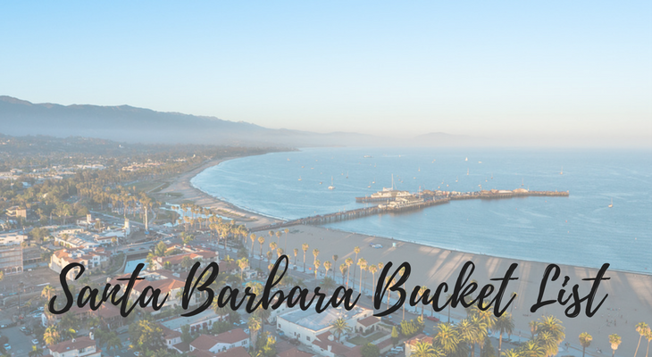 Santa Barbara Bucket List title=