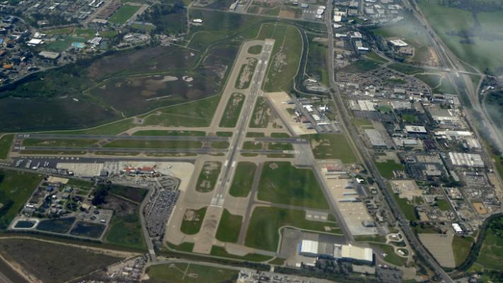 Aircraft Emergency at Santa Barbara Airport