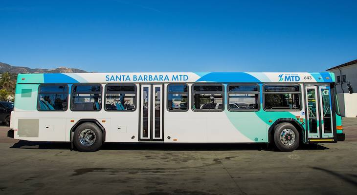 MTD Bus Capacity Increases, Face Masks Required