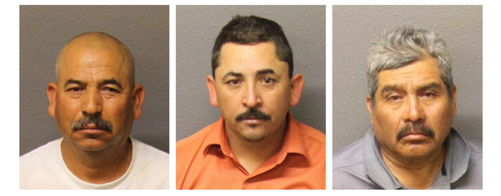 Three Men Arrested for Alleged Prostitution and Trafficking of a Juvenile
