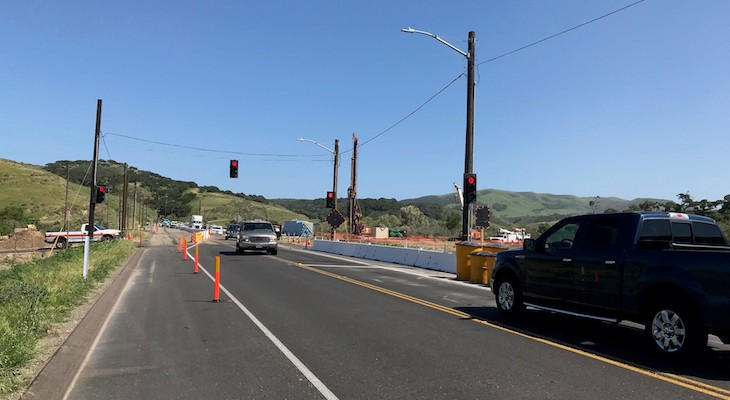 Bridge Replacement on Highway 1 title=