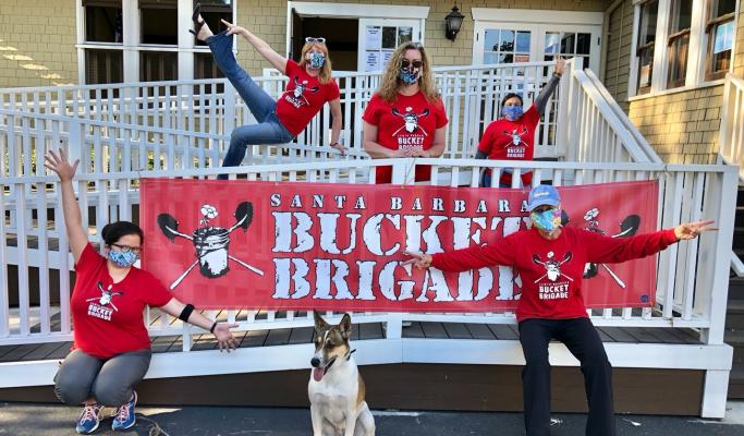 Bucket Brigade Makes Masks, Saves Lives! title=