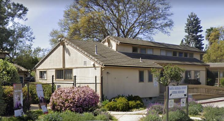 Santa Barbara County Animal Services offices in Goleta