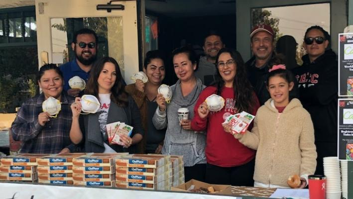 SBCC Staff Takes Care of Students During Wildfire
