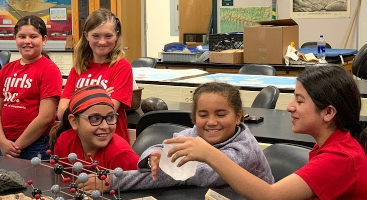 SBCC Helps Girls Inc. Groups to Visualize Themselves in STEM Careers
