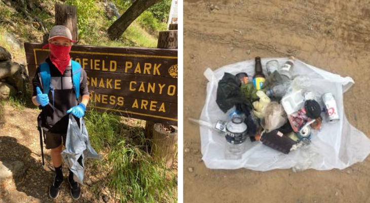 Santa Barbara Channelkeeper's Watershed Brigade Cleans Nature Access Areas title=