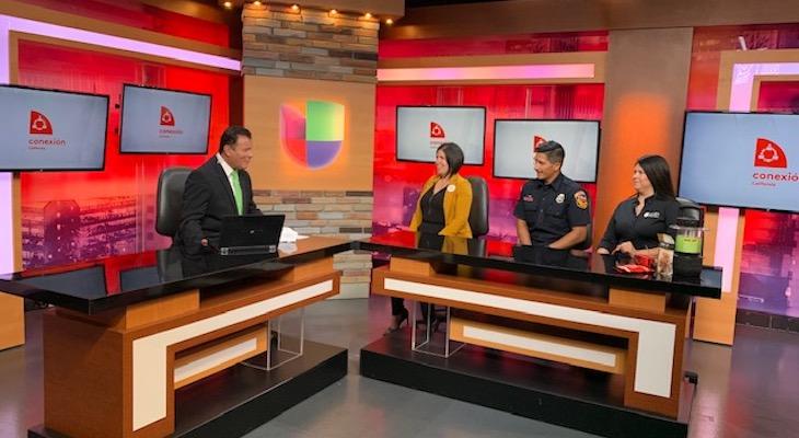 Santa Barbara Fire Department Representative Visits Governor's Office