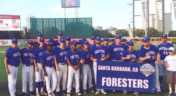 Santa Barbara Foresters at the World Series