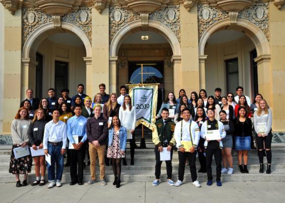 Santa Barbara High School Alumni Association Scholarship Winners 2019 title=