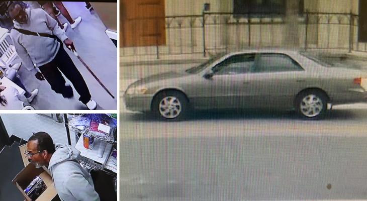 Santa Barbara Police Search for Theft Suspect title=
