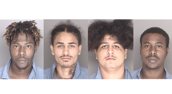 Four Arrested for Pharmacy Burglaries title=
