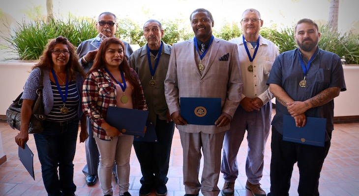 Former State Prisoners Graduate from Day Reporting Centers