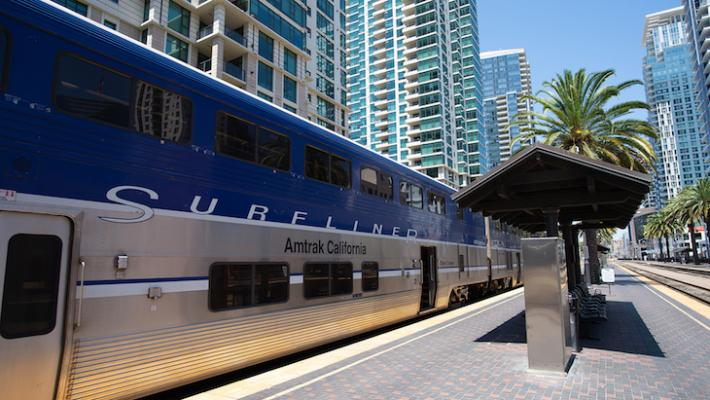 Amtrak Pacific Surfliner Schedule Change and Service Expansion title=