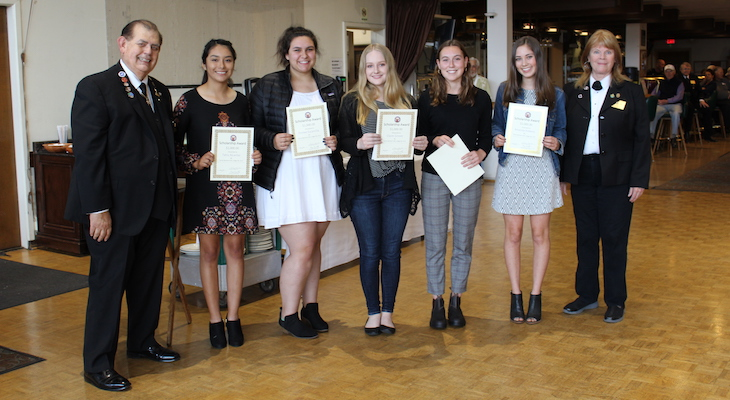 Santa Barbara Elks Honor 12 Students title=