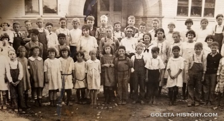 Goleta School Kids 1925