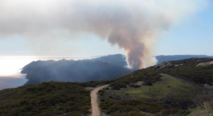 Santa Cruz Island Fire Now 100% Contained