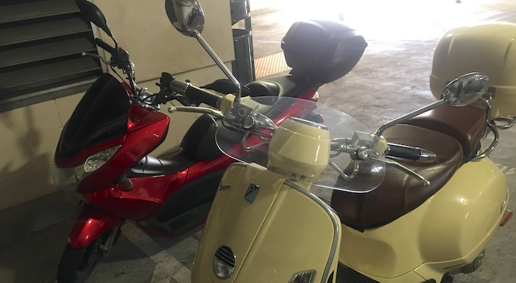 Increased Theft of Motorcycles