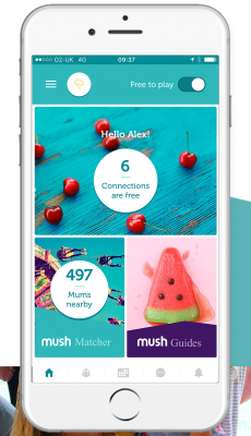 Mush App for Mom's to Meet Other Mom's