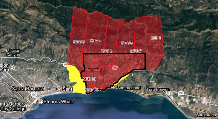 Evacuation Warnings and Orders Lifted for Some Residents