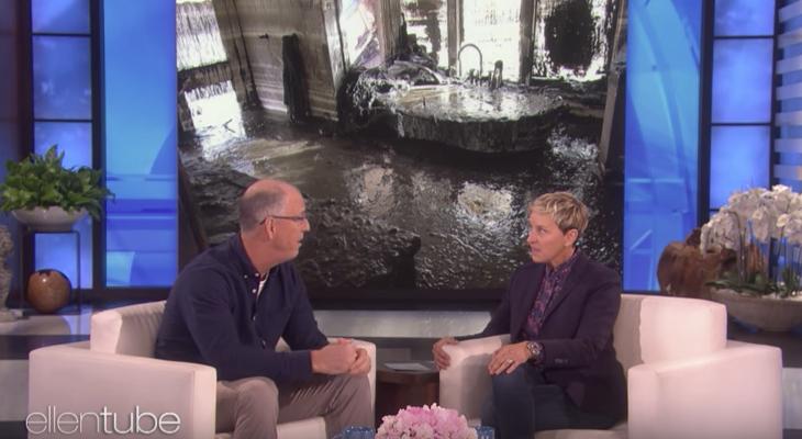 Montecito Man Details Mudslide Experience on the Ellen Show