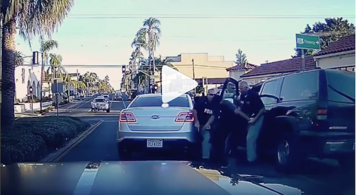 State Street Arrest Caught on Tape title=