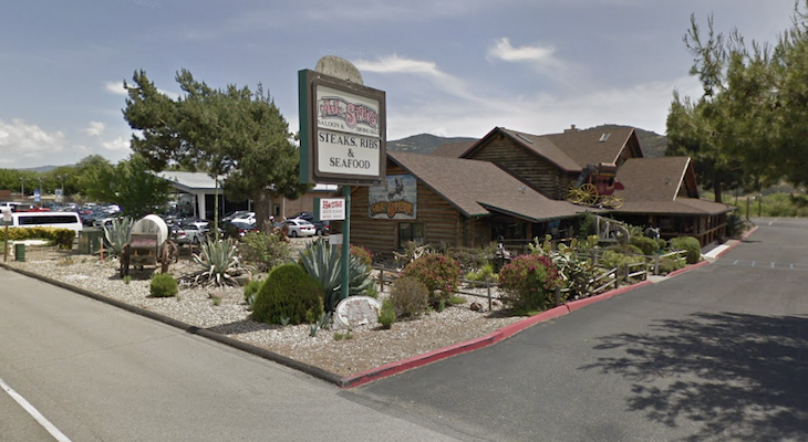 AJ Spurs in Buellton Closed After Structure Fire