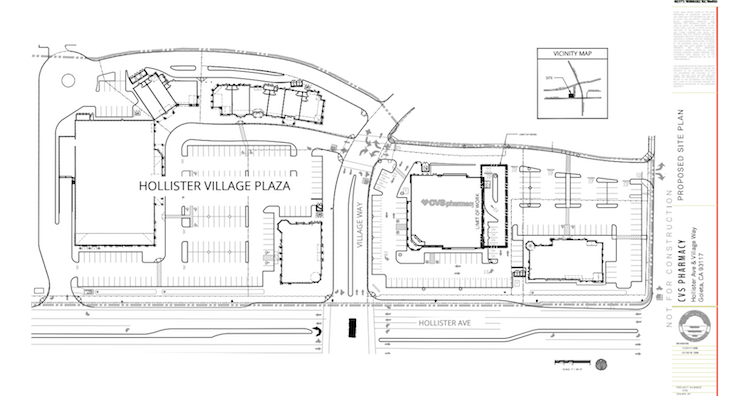 Pharmacy Drive-Thru Proposed at Hollister Village