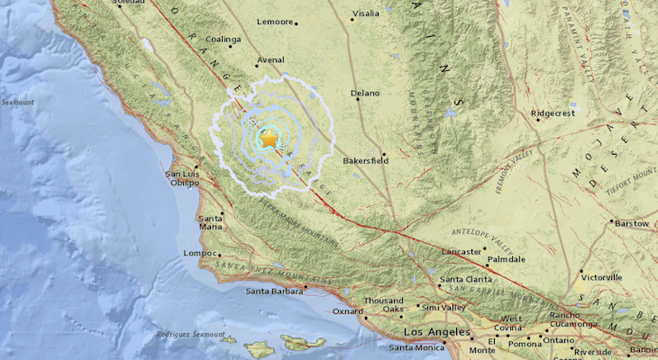 Distant Earthquake Possibly Felt in Santa Barbara Wednesday Morning