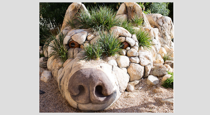 Rock Sculpture Idea for Montecito title=