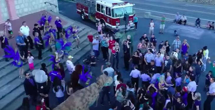 Santa Barbara Police Release Lip Sync Challenge Video