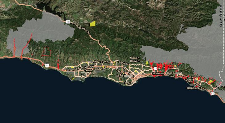All Evacuation Orders Lifted for Santa Barbara County