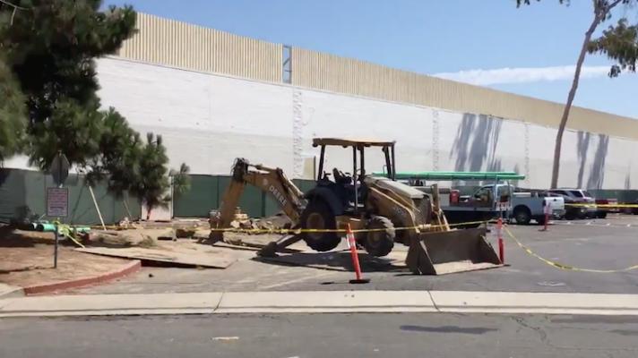 Former Kmart Building Evacuated for Gas Leak title=
