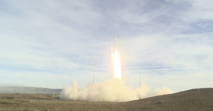 Unannounced Test Missile Launched Thursday Morning title=