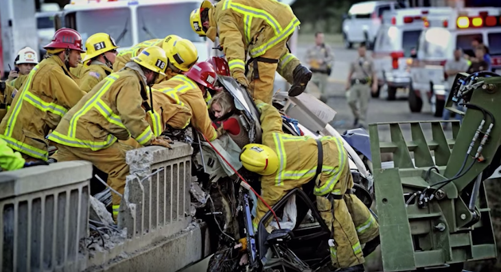 Local First Responders in Super Bowl Ad