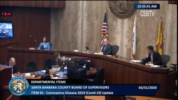 Board of Supervisors Discuss Coronavirus Timeline and Preparation title=