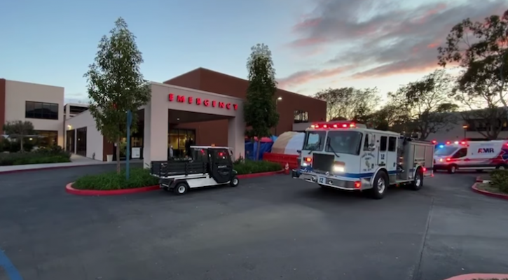 First Responders Celebrate Healthcare Workers
