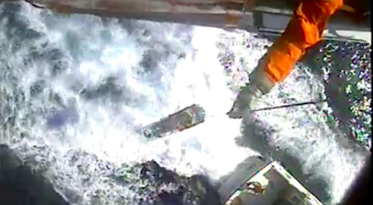 Coast Guard Medevacs Injured Man Near San Nicolas Island