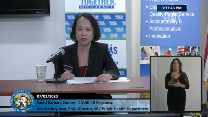 Public Health Discusses New Health Order and Beach Closure title=