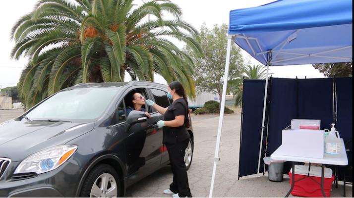 Santa Barbara Unified Offers Drive-Thru COVD-19 Testing title=