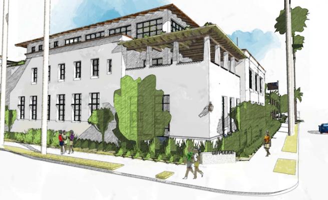 View at Cota and Santa Barbara Streets (courtesy image)