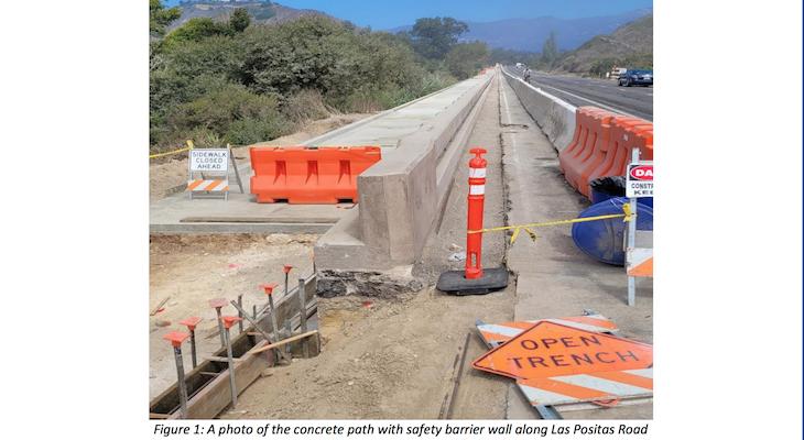 Las Positas and Modoc Roads Multi-Use Path Construction Update title=