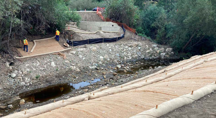 Arroyo Burro Open Space Restoration Nearly Complete title=