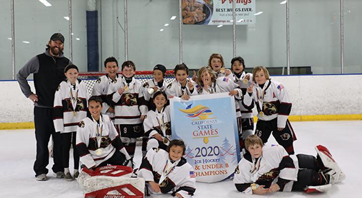 Santa Barbara Ice Hawks Bring Home Two Championship Banners