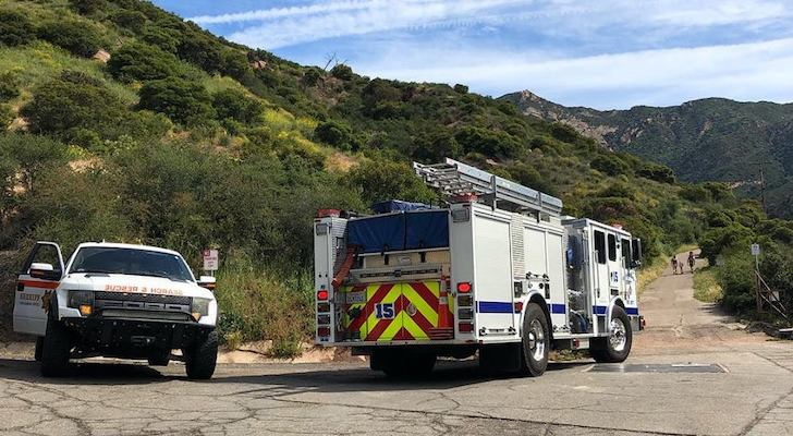 Victim with Head Injury near Inspiration Point