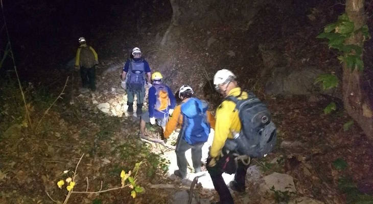 Search and Rescue Team Saves Lost Hiker on Cold Springs Trail