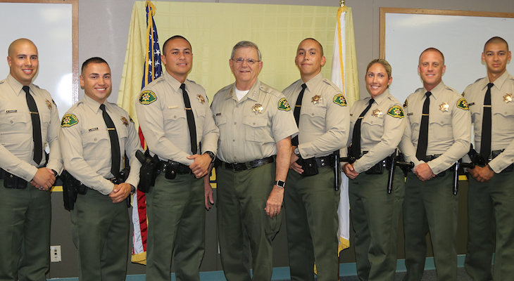 Seven Santa Barbara County Deputy Sheriff Trainees Graduate from the Ventura County Criminal Justice Training Center