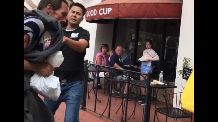 Photos of Shoplifting Confrontation