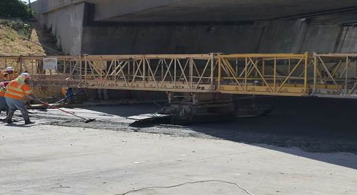 Castillo Street Project Continues with Concrete Pour