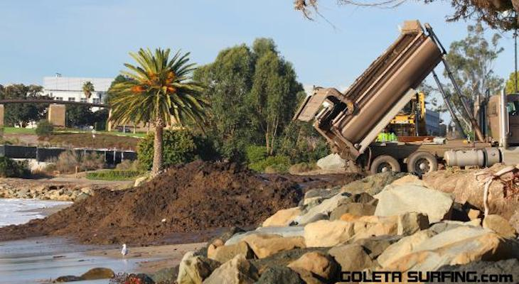 Debris Flow Dumping on County Beaches Has Ended