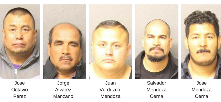 Five Arrested in Kidnapping and Sexual Assault Case